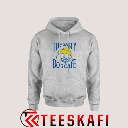 The Salty Dog Cafe Hoodie Cafe Logo Size S-3XL