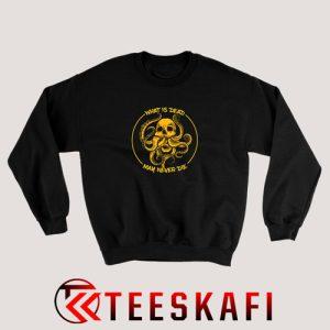 What Is Dead May Never Die Sweatshirt Game of Thrones S-3XL