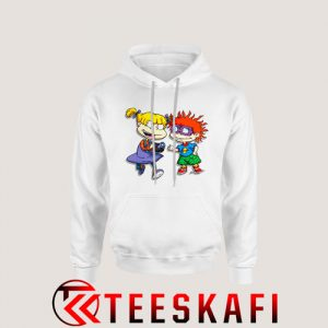 Angelica Pickles Chuckie Rugrats Hoodie Cartoon Rugrats S-3XL