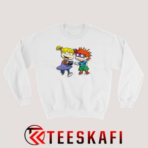 Angelica Pickles Chuckie Rugrats Sweatshirt Cartoon Rugrats S-3XL