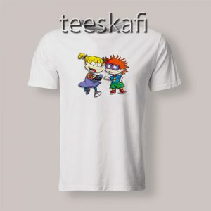 Angelica Pickles Chuckie Rugrats T-Shirt Cartoon Rugrats S-3XL