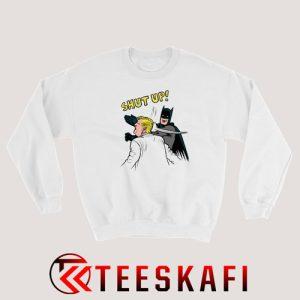 Batman Slap Donald Trump Sweatshirt Funny Trump Size S-3XL