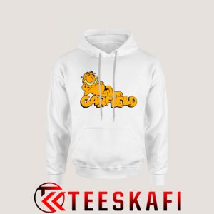 Garfield Lying Down Hoodie Cartoon Garfield Size S-3XL
