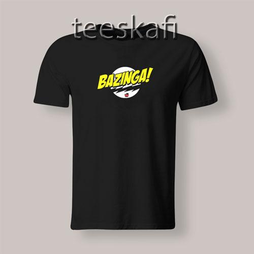Sheldon Cooper Bazinga T-Shirt The Big Bang Theory S-3XL