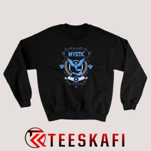 Team Mystic Trainer Sweatshirt Pokemon Go Size S-3XL