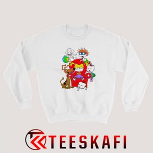 Tommy Pickles and Rugrats Family Sweatshirt Cartoon Rugrats S-3XL