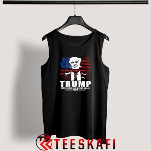 Trump Make America Great Again Tank Top Donald Trump S-3XL