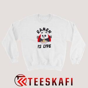 We Bare Bears Ramen Is Life Sweatshirt Funny Panda S-3XL