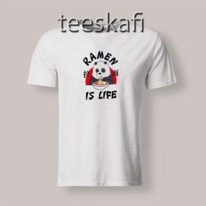 We Bare Bears Ramen Is Life T-Shirt Funny Panda S-3XL