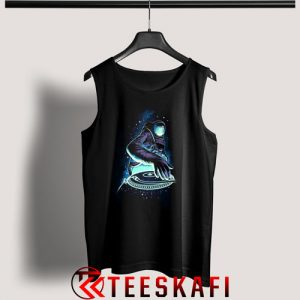 Astronout DJ Space Tank Top Funny Space Size S-3XL