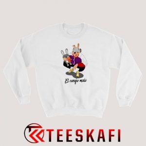 Bad Bunny El Conejo Malo Rapper Sweatshirt Size S-3XL