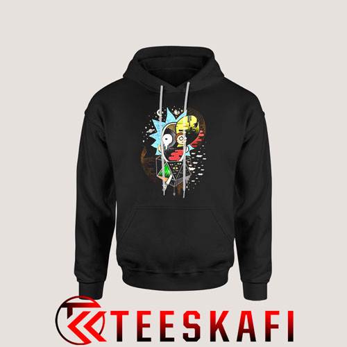 Rick And Morty Polarity Hoodie Funny Rick and Morty S-3XL