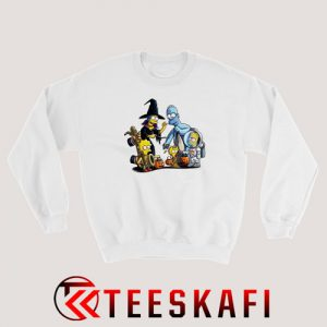 The Simpsons on Halloween Sweatshirt Halloween Tee S-3XL