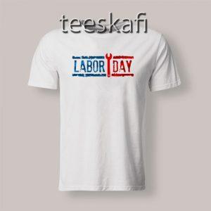 USA Labor Day T-Shirt Happy Labor Day S-3XL