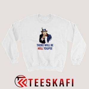 Uncle Sam Trump Sweatshirt Funny Donald Trump S-3XL