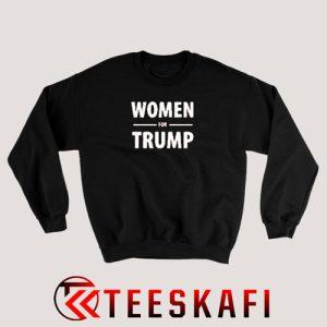 Women For Trump Sweatshirt Pro Donald Trump S-3XL