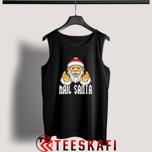 Hail Santa Metal And Rock Devils Horns Tank Top Size S 3XL 300x300 - Geek Attire Store