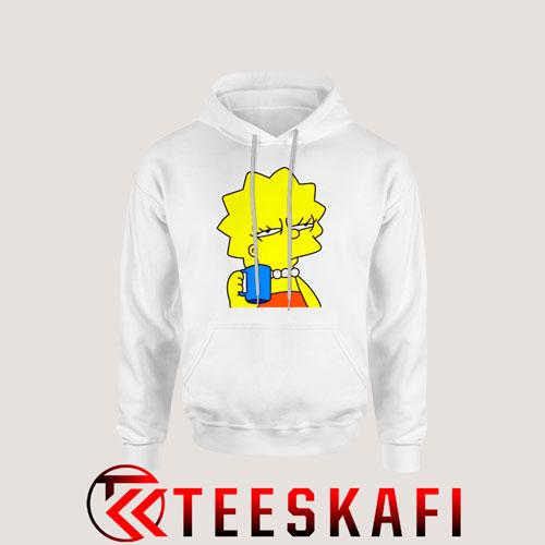 Lisa Simpson Cartoon The Simpsons Hoodie Size S-3XL