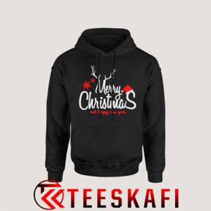 Merry Christmas and Happy New Year Hoodie Size S-3XL