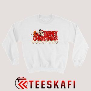 Vintage Disney Mickey Mouse Christmas Sweatshirt Size S-3XL