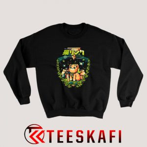 A Cat to the Past Sweatshirt Size S-3XL