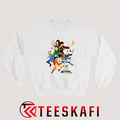 Avatar The Last Airbender Gaang Sweatshirt Size S-3XL