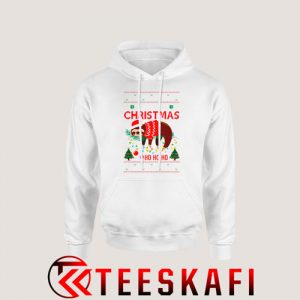 Lazy Sloth Ugly Christmas Hoodie Size S-3XL