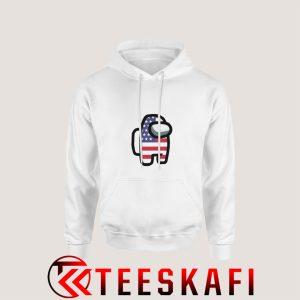 Among Us America Flag Hoodie 300x300 - Geek Attire Store