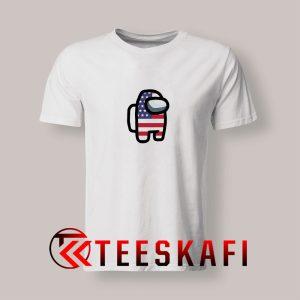 Among Us America Flag T Shirt 300x300 - Geek Attire Store