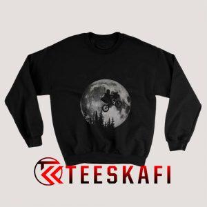 Across The Moon With The Child Sweatshirt
