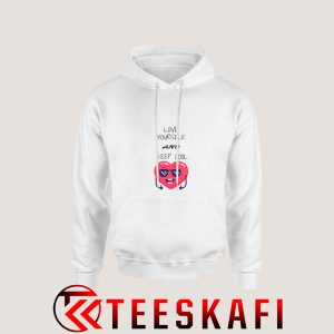 Love Yourself and Keep Cool Hoodie 300x300 - Geek Attire Store