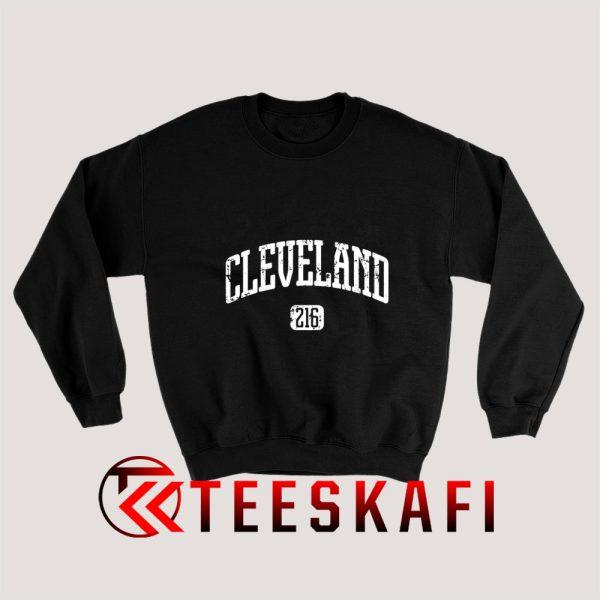 Cleveland 216 Sweatshirt