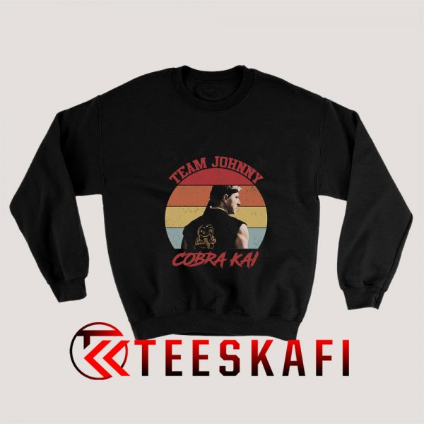Johnny Lawrence Cobra Kai Sweatshirt