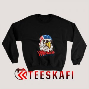 Eagle America USA Sweatshirt 1 300x300 - Geek Attire Store