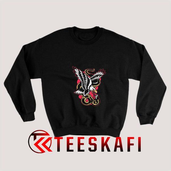 Eagle Fang vs Cobra Kai Sweatshirt