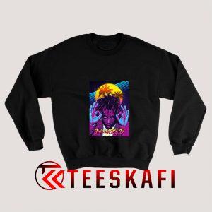 Juice Wrld Purple Light Sweatshirt 300x300 - Geek Attire Store