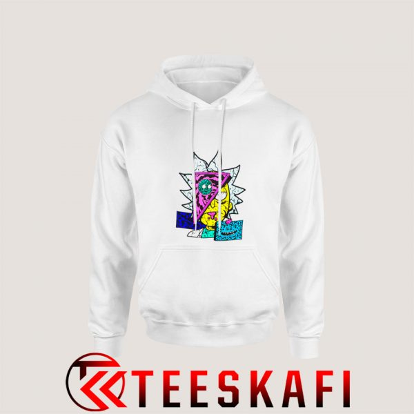 Rick And Morty Destructed Hoodie